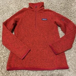 PATAGONIA better sweater. RED color. Size XS